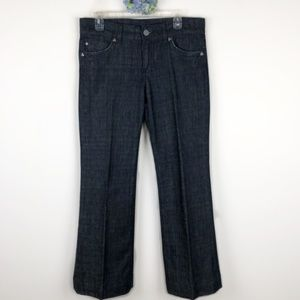 Kut from the Kloth Wide Leg Jeans Flap Pocket 8
